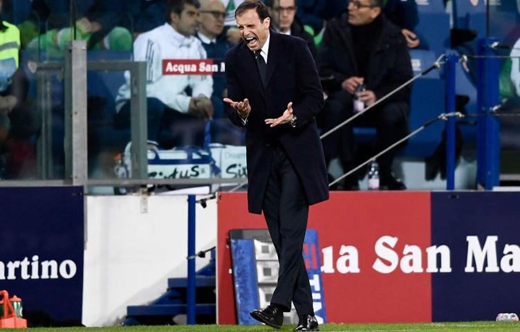 "Allegri: ""Cagliari večeras nije zaslužio biti poražen"""