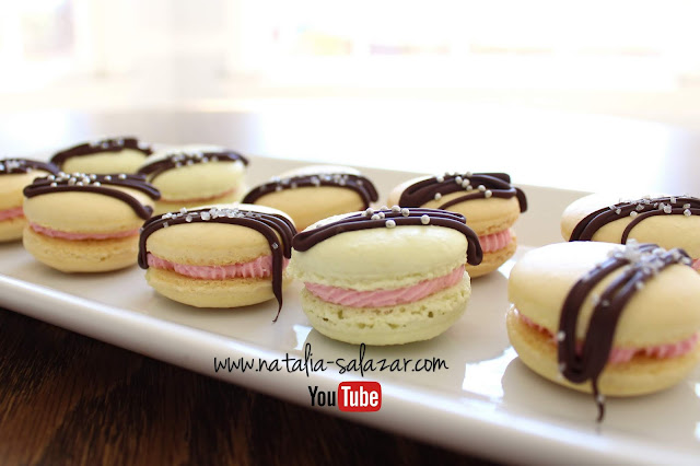Macarons de mora