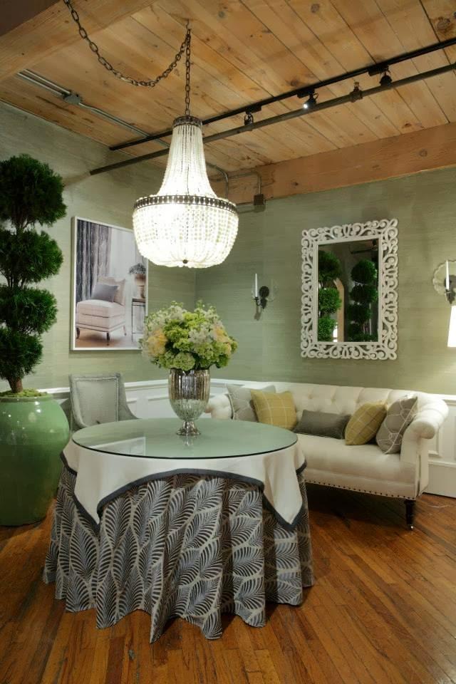 Lisa Mende Design Thibaut High Point Market Showroom