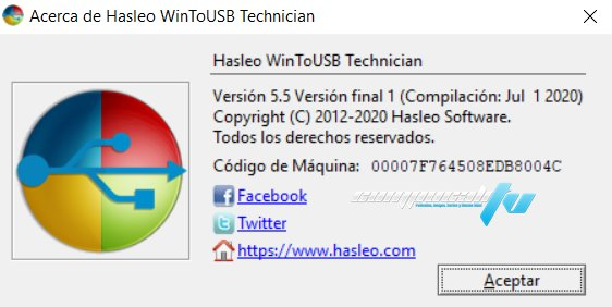 Hasleo WinToUSB Technician Versión Final Español