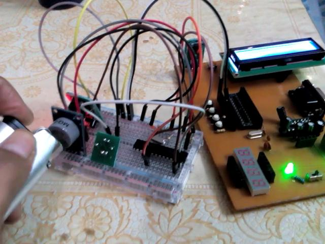LPG Gas Leakage Detector using (MQ-9) Gas Sensor and pic Microcontroller