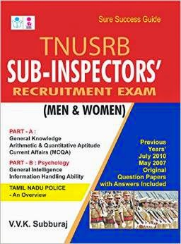 Download Tamil Nadu Sub Inspector SI Written Exam Solved