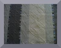 patchwork quilting blanc multicolor