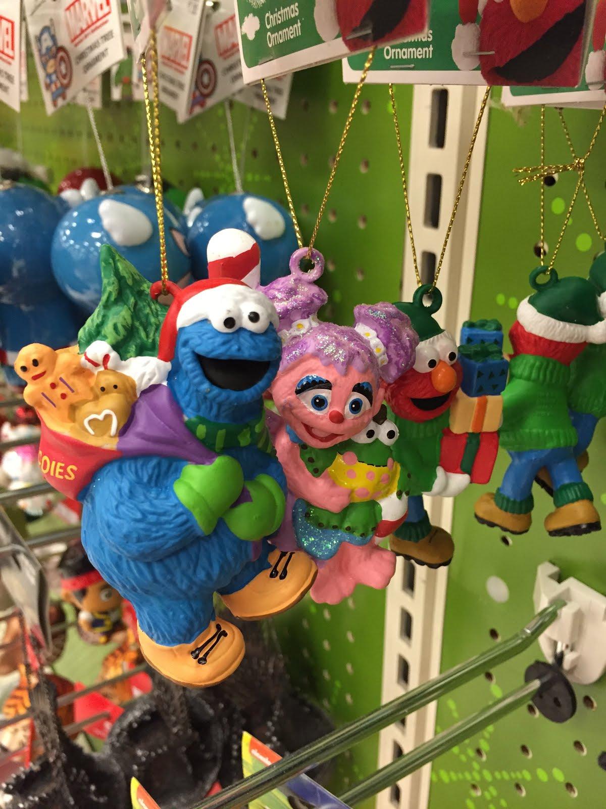 Target Sesame Street Ornaments Muppet Stuff