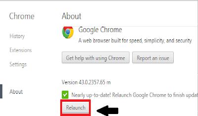 Cara Memperbarui Google Chrome  ke Versi Terbaru
