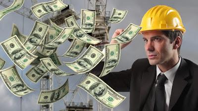 homem com muito dinheiro