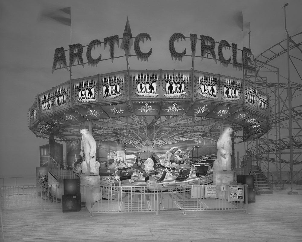 01-Arctic-Circle-Michael-Massaia-Black-and-White-Photographs-Funfair-and-Pinball-Machine-www-designstack-co