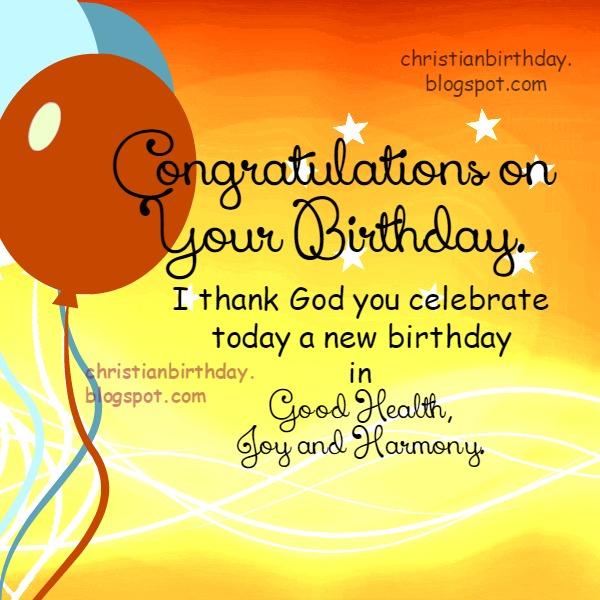 Christian Birthday Free Cards September 2014