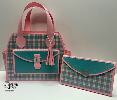 Our Daily Bread Designs Custom Dies: Timeless Tote, Timeless Tote Layers, Petite Pocketbook, Paper Collection: Shabby Pastels