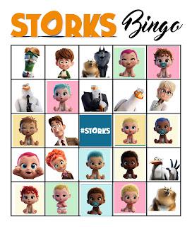 storks bingo