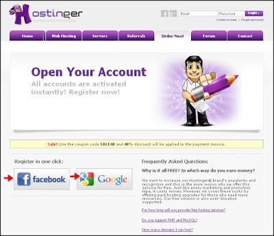 Panduan Membuat dan Order Free WebHosting