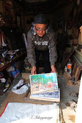 Nepal Bungamatiは工芸職人が多い。
