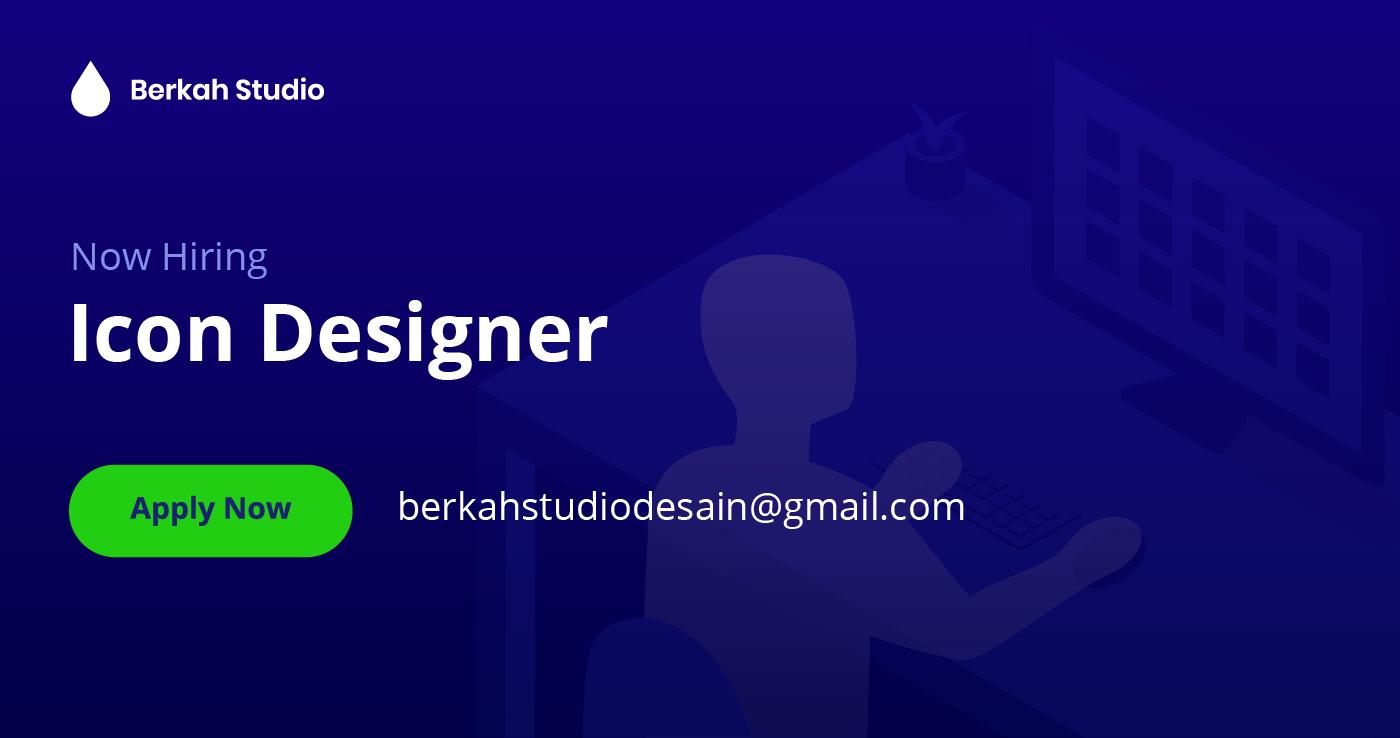 Lowongan Kerja Sebagai Icon Designer di Berkah Studio