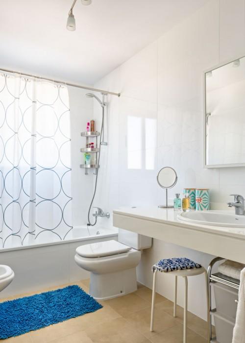 bañera con cortina chicandeco