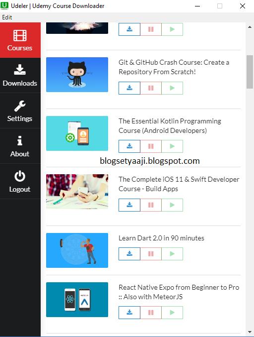 Cara Mudah Download Video dari Udemy Terbaru ~ Blog Setya Aji