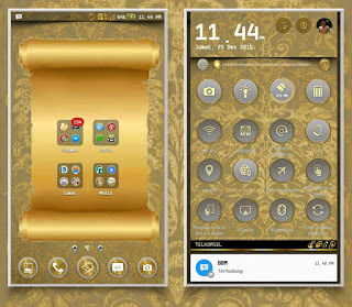 Tema Android Themes Asus Zenfone 5 Gold