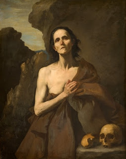 Saint Mary of Egypt is a 1641 painting of the 4th century ascetic saint Mary of Egypt by José de Ribera, now in the Musée Fabre in Montpellier, which acquired it in 1837.
