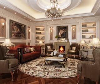 decoración sala clásica