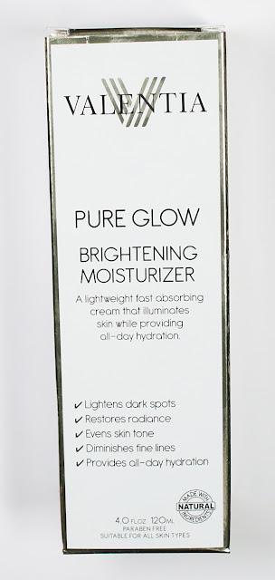 Valentia Pure Glow Brightening Moisturizer