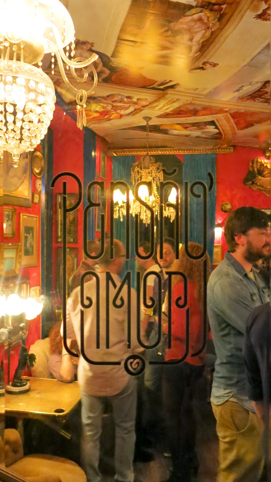 Nattklubben Pensao Amor i Lissabon