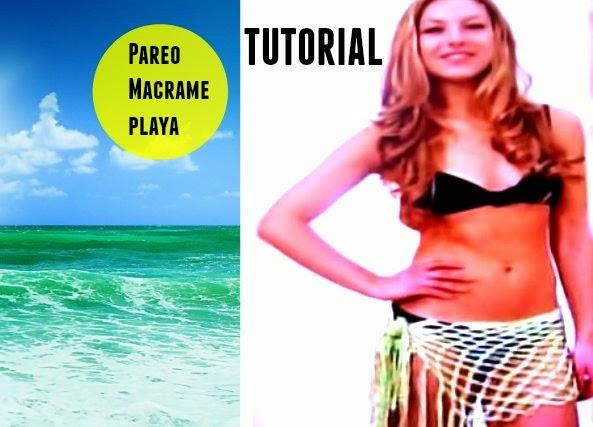 Pareo de Macrame para la playa tutorial