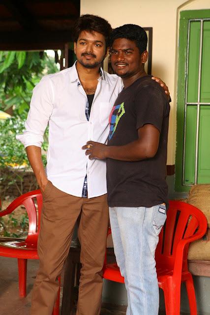 Vijay's Bhairavaa tamil movie Working Stills