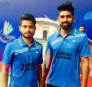 Jaunpur News :  इण्डियन ओपेन इण्टरनेशनल सुपर सीरीज में शुभम व कपिल चयनित