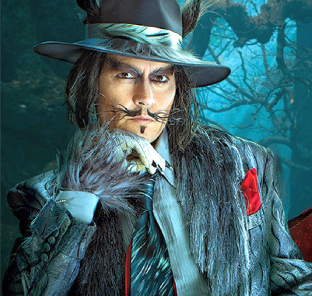 Johnny Depp into the Woods Wolf