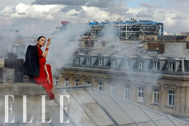 Gao YuanYuan, Gao YuanYuan Elle, Gao YuanYuan 2012, Gao Yuanyuan Paris