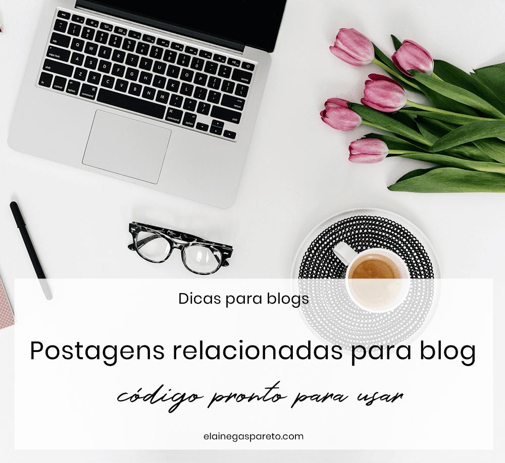 postagens relacionadas