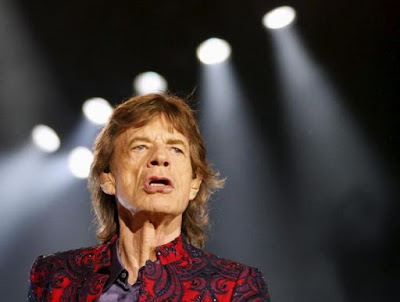 Mick Jagger of The Rolling Stones performs during their ''Latin America Ole Tour'' at the Foro Sol in Mexico City, Mexico March 14, 2016.