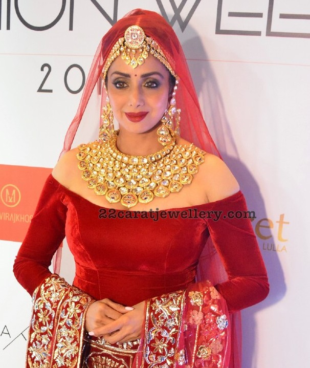 Sridevi Kapoor at Bangalore Fashion Week
