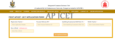 ap iCET Seat Allotment