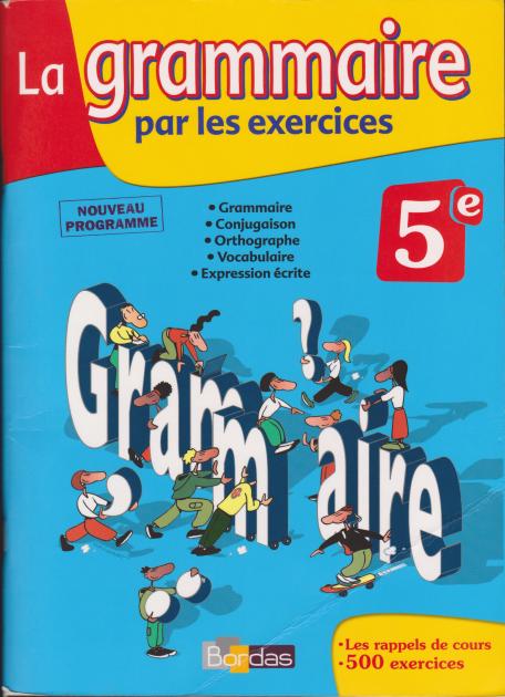 La Grammaire Par Les Exercices Pdf Le Lycee Doc