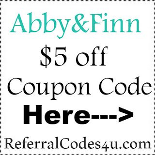 AbbyandFinn.com Promo Codes, Coupons & Discount Codes 2018-2019 Jan, Feb, March, April, May, June, July, Aug, Sep, Oct, Nov, Dec