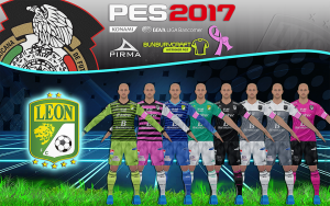 PES 2017 Kitset Leon Liga MX Temporada 2016/2017 By BuNbUrYcRaFt