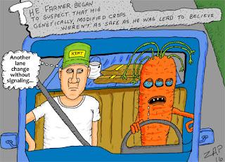 GMO takeover cartoon