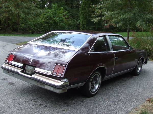 The Result Was Decidedly Odd Although Cutlass Would Go On To Become Best Selling Car In 1979 This Two Door Manual Trans Equipped Version