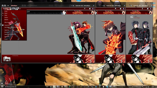 sousei no onmyouji Win 7 Theme