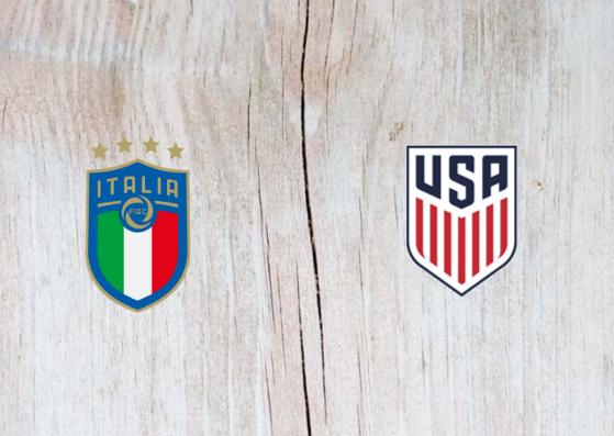 Italy vs USA Full Match & Highlights 20 November 2018