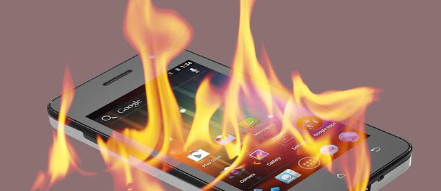Smartphone Anda Panas