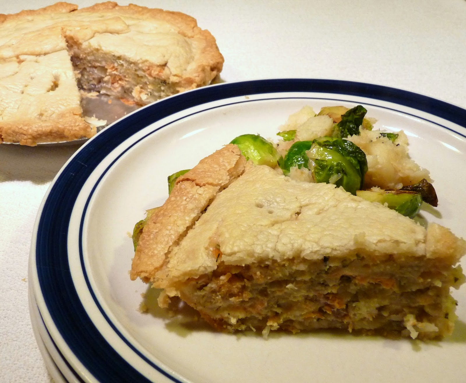 Salmon or Trout Tourtière