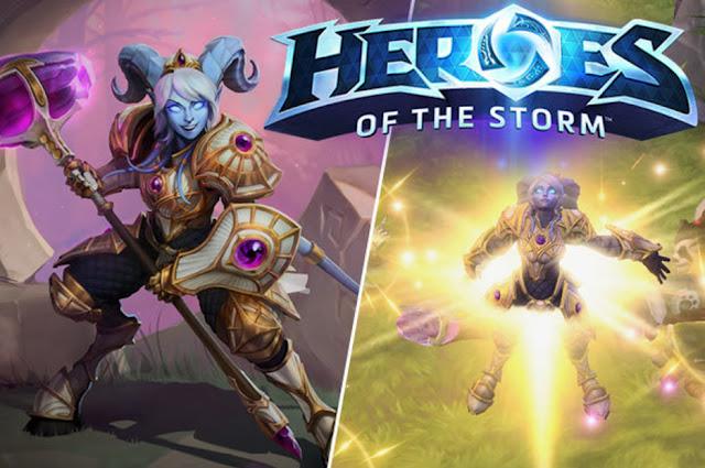 Heroes of the storm revela a su nuevo heroe: YREL