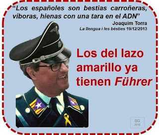Juaquín Torra, Puigdemont, Puppe, Führer
