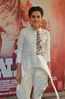 Taapsee Pannu Looks Super Cute in White Kurti and Trouser 18.JPG