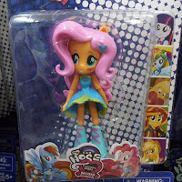 Fake MLP Equestria Girls Minis Fluttershy Figure