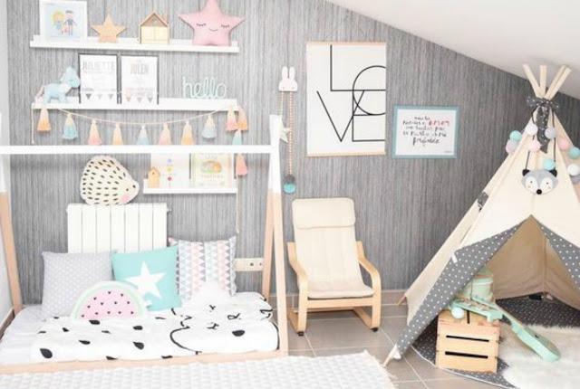 habitacion infantil niña