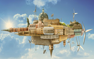 Amazing planet building photos