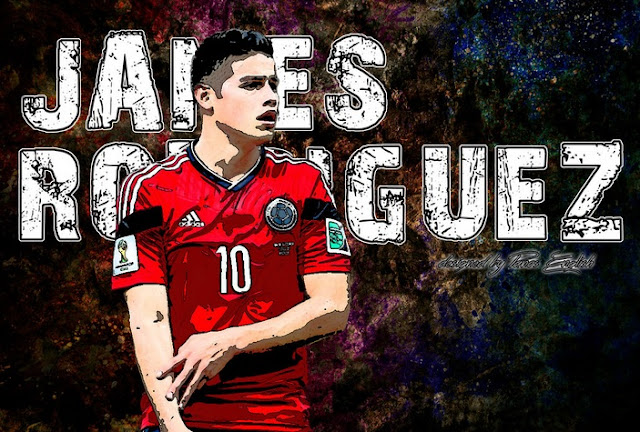 James Rodriguez Copa America Wallpaper
