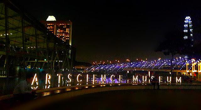 Keindahan Art Science Museum Wisata Terkenal Singapura